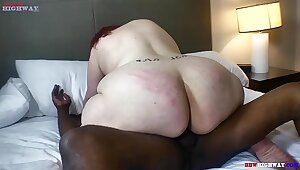Mr Stixx Gets deep in mature pawg aggravation on BBWHighway.com