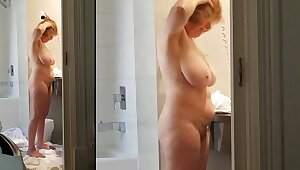 Sexy grandma has a killer body