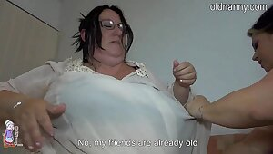 Old fat women fucking it bed