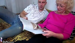 OldNanny Venerable granny is very very horny and wet