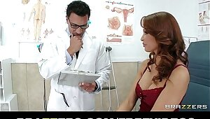 HOT redhead MILF Monique Alexander gets a checkup