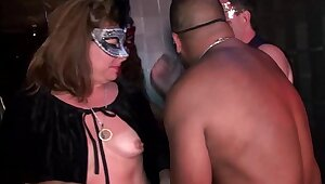 Young swingers-hot MILFs go wild in Trapeze Club-NEW-FULL video be suited to on RED
