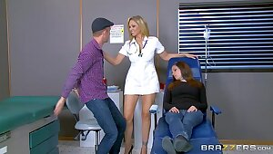 Brazzers - Julia Ann is two hot nurse