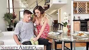 Downhearted America - Cherie DeVille wants some young cock