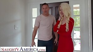 Naughty America Kit Mercer fucks her son's bully to get him to stop