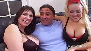 Prex British MILF gets double penetrated