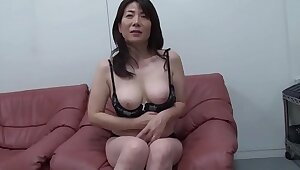 Mature mother's seduced by son's visitors #2
