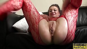 Facefucked mature Britt old bag analy raddled